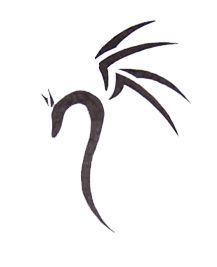 simple dragon tattoo designs - Google Search