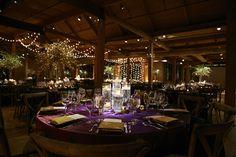 modern Chicago loft wedding hanging lights