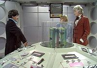 "Season 10 (1972 – 1973) For the tenth season the TARDIS console was brough back to its original look with a few extras such as the pull out bed shown in ""Planet of the Daleks"""