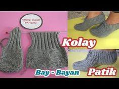 Beaded Crochet Bags – New Cheap Bags Knitting Videos, Crochet Videos, Knitting Stitches, Knitting Socks, Free Knitting, Baby Knitting, Crochet Slipper Pattern, Crochet Shoes, Bead Crochet