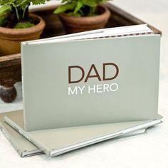 Dad My Hero Book