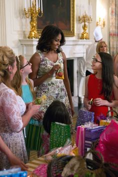 To celebrate Military Spouse Appreciation Day and an early Mother's Day, the First Lady and Dr. Biden invited military-connected moms to the White House for their annual Mother's Day Tea.