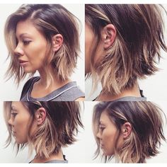 20 Short Hairstyles for Wavy Hair, Hair makeup Unless you have been living under. - 20 Short Hairstyles for Wavy Hair, Hair makeup Unless you have been living under a rock I am sure y - # New Hair, Your Hair, Medium Hair Styles, Long Hair Styles, Growing Out Short Hair Styles, Hair Growing, Growing Out A Bob, Thin Fine Hair Styles, Short Hair Cuts For Teens