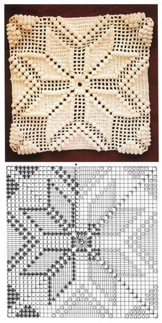 Transcendent Crochet a Solid Granny Square Ideas. Inconceivable Crochet a Solid Granny Square Ideas. Motifs Granny Square, Granny Square Crochet Pattern, Crochet Diagram, Crochet Squares, Crochet Motif, Crochet Designs, Crochet Doilies, Crochet Stitch, Crochet Granny