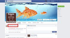 700 J'aime sur la page Facebook animée pour Cours Animalia