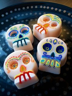 DIA DE LOS MUERTOS/DAY OF THE DEAD~Sugar Skulls Soap