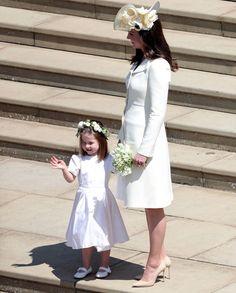 "princesscharlottes: ""mother & daughter ❤️ """