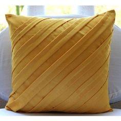 Mustard Yellow Pillow - 16x16