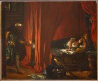 Delacroix, Eugène - Othello et Desdémone - Musée des Beaux-Arts du Canada, Ottawa