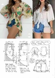 Make Your Own Clothes, Diy Clothes, Dress Sewing Patterns, Blouse Patterns, African Wedding Dress, Pattern Cutting, Pattern Fashion, Sewing Tutorials, Marie