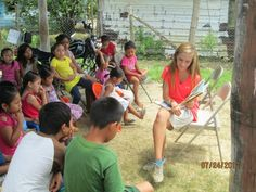 teach kids in third world countries how to read and write for a better future = the most rewarding experience ever! :)