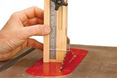 Quick-and-Easy Height Gauge Downloadable Plan | WOOD Magazine