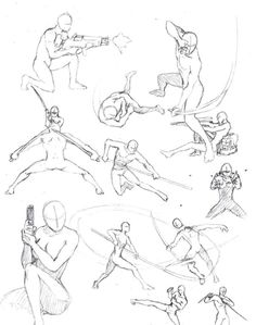 Action Poses 2 by *shinsengumi77 on deviantART