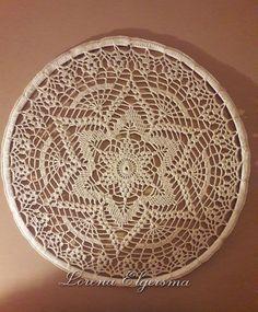 Mandala Estrela Branca em Crochê, mandalas espiral, coloridas, em almofada, pingentes , decorativos, o poder das cores e seus benefícios