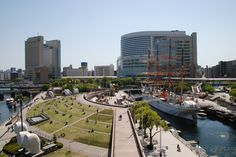 日本丸メモリアルパーク みなとみらい 海の見える公園 横浜
