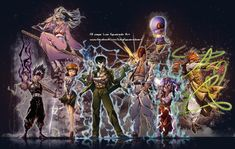 YuYu Hakusho ALL by marvelmania.deviantart.com on @DeviantArt