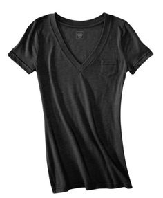 Target Mossimo Boyfriend V Neck Tees.   I have so many of them.  My go to item.