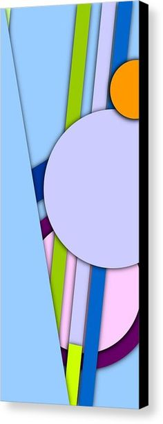 Simple Abstract 328 Canvas Print by Chris Butler. #art #deco #design #interior #home #Decor #wall #modern #contemporary #homedecor #abstractart #interiordesign #tasteful