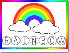 rainbow posts on Totally Tots