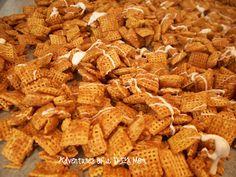 Cinnamon Roll Chex Mix