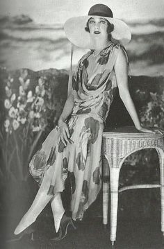 1920's Fashion - Gertrude Lawrence, 1928, Photo by James Abbe