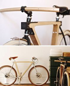 Wooden bicycles are an amazing innovation. Wonder what it takes to make on of these?