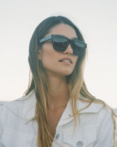 #shevoke #madifogg #shoot #shootinspo #shevokecampaign #shevokesquad Oval Faces, Oversized Sunglasses, On Set, Her Hair, Sunnies, Eyewear, Salt, Lens, My Style