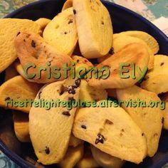 Biscottini di riso con gocce di cioccolato light per intolleranze