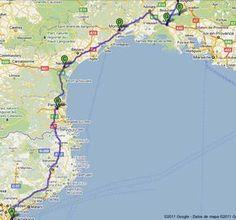 Ruta en coche por la Provenza francesa Para saber más sobre los coches no olvides visitar marcasdecoches.org