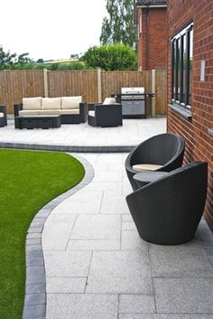 The right paver patio design may just be the solution you need if you feel that your patio is lacking something you cannot point your finger on. Not only that, the paver patio design can add more…MoreMore  #LandscapingGarden