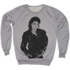 Michael Jackson MJ Moonwalk Thriller Dangerous Retro VTG Jumper... (37 AUD) ❤ liked on Polyvore featuring tops, hoodies, sweatshirts, long sleeve sweatshirt, retro tops, unisex tops, crewneck sweatshirt и long sleeve tops
