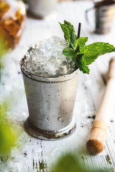 A classic Mint Julep, perfect for the Kentucky Derby—and, really, whenever. | Honestly Yum