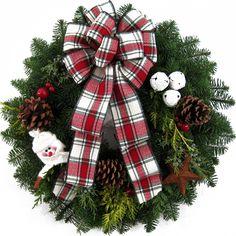 Fresh Country Christmas Wreaths