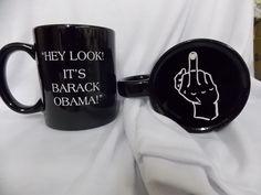 Obama Coffee Mug by AlphaCreationsUSA on Etsy