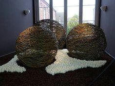 Spheres in cudzu!