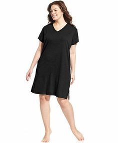 Jockey Plus Size Sleepshirt Short Sleeve                                                                                                                                                                                 Más