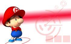 Baby Mario Wallpaper by linkintek06.deviantart.com