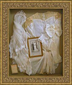 Wedding Dress Shadow Box Wedding Dress Shadow Box, Wedding Dress Frame, Wedding Dress Display, Wedding Dress Quilt, Wedding Memory Box, Antique Wedding Dresses, Wedding Dresses Photos, Wedding Boxes, Wedding Veil