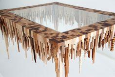wooden city sculptures 4