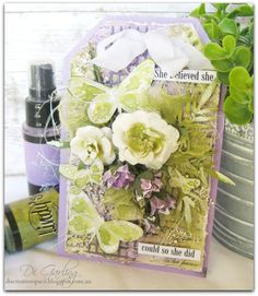Di's Creative Space: My May DT Reveal for Lindy's Stamp Gang &More Than...