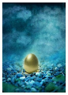 Fairy Tale Print The Golden Egg Myth  5x7inch by ThisYearsGirl, $10.00