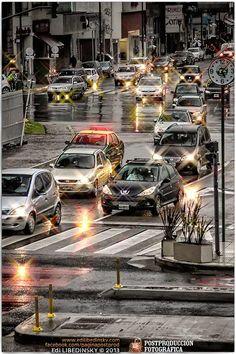 Tarde de lluvia en Buenos Aires - Septiembre de 2013