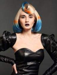 Dana Lyseng's winning entries for BC Salon Stylist from the 2014 Canadian Hairdresser Mirror Awards #Wella Top #Stylist #wellafamily