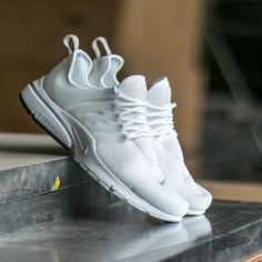 Nike Wmns Air Presto White/ Pure Platinum - White - White · Running Shoes  ...