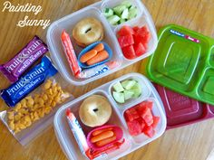 Lunches for the littles