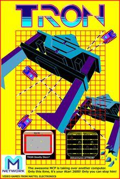 Tron for Atari 2600