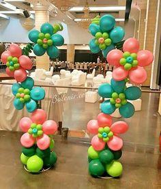 Balloon Columns, Balloon Garland, Balloon Arch, Balloon Ideas, Luau Birthday, 1st Birthday Girls, Birthday Parties, 1st Birthday Girl Decorations, Ballon Decorations