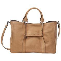 Handbag - Longchamp 3D - Handbags - Longchamp - Nude - Longchamp Spain