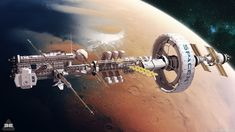 Spaceship Art, Spaceship Design, Arte Sci Fi, Sci Fi Art, Cyberpunk, Space Opera, Pintura Exterior, Starship Concept, Space Engineers