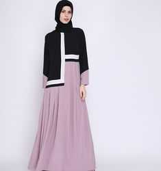 Moslem Fashion, Niqab Fashion, Modest Fashion, Fashion Dresses, Muslim Women Fashion, Islamic Fashion, Hijab Style Dress, Abaya Designs, Muslim Dress